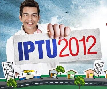 Que alegria de pagar o IPTU!