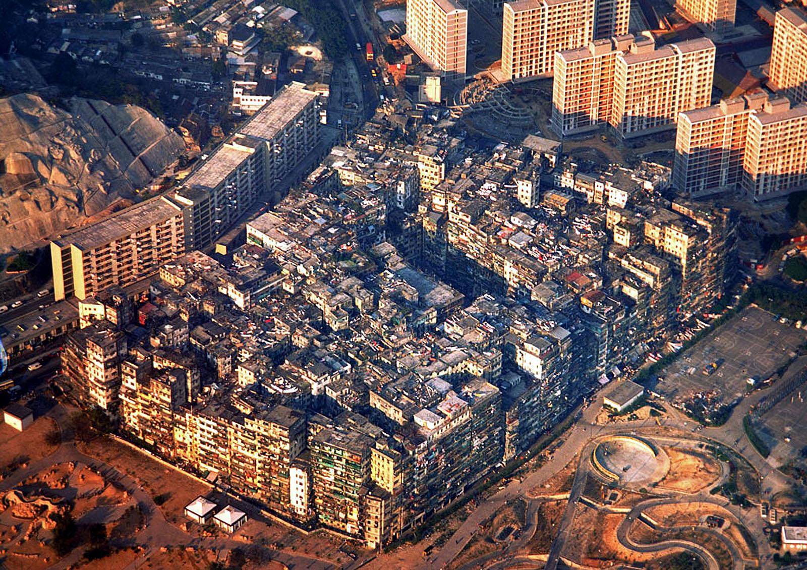 A cidade murada de Kowloon