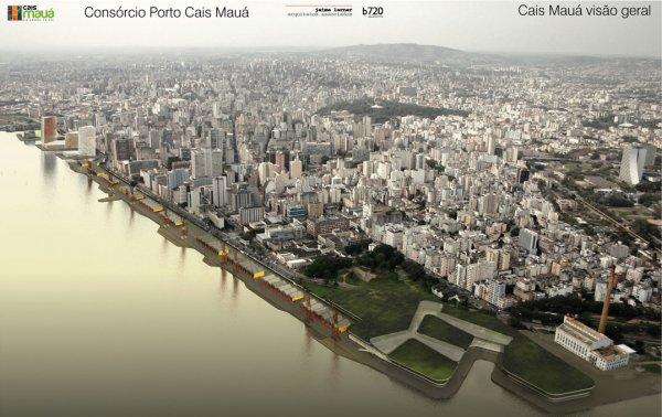 Projeto Cais Mauá, em Porto Alegre. Bom, mas não pra todos.
