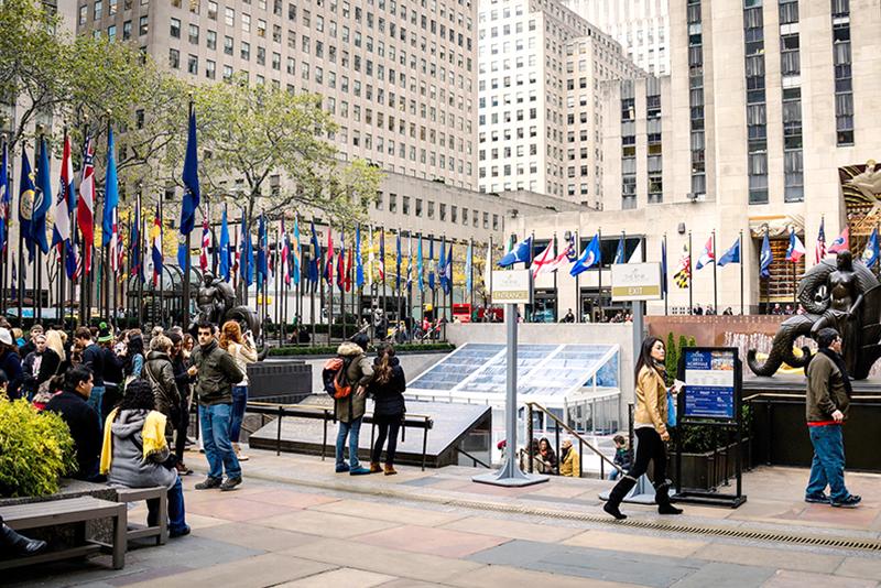"""Quando um """"projeto comercial"""" era o Rockefeller Center"""