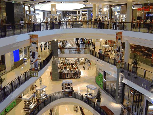 Shopping em Porto Alegre? Não, esse é na Tailândia