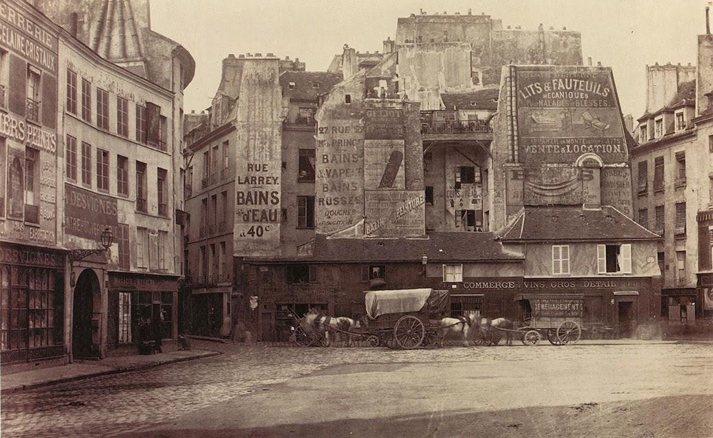 Place Saint-André-des-Arts (pre-Haussmann)