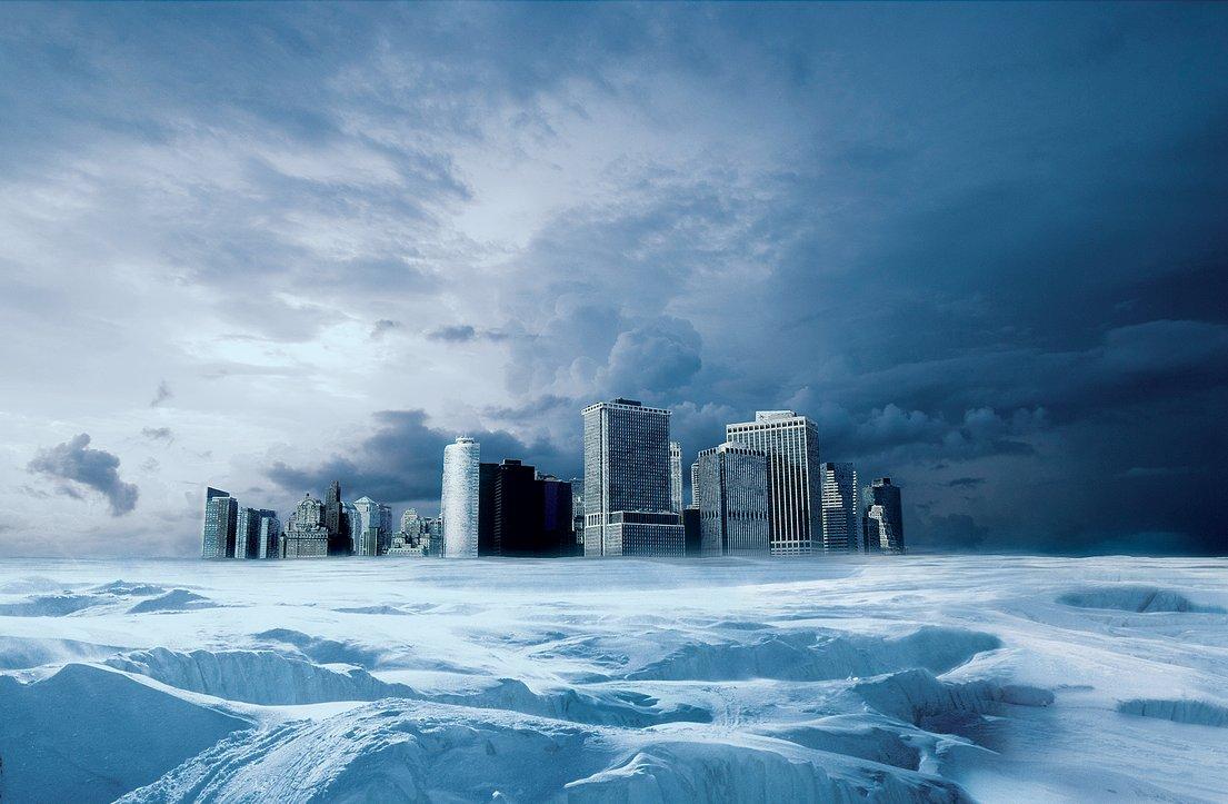 cidade congelada