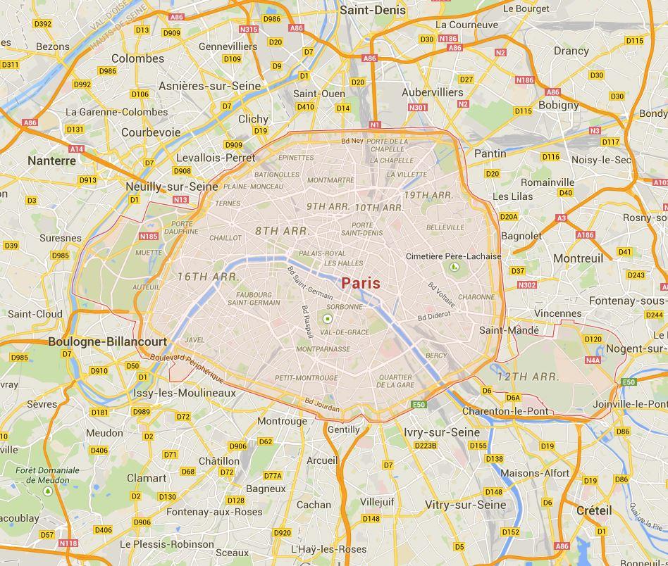 Área proposta para interdição pelo Corpo de Bombeiros