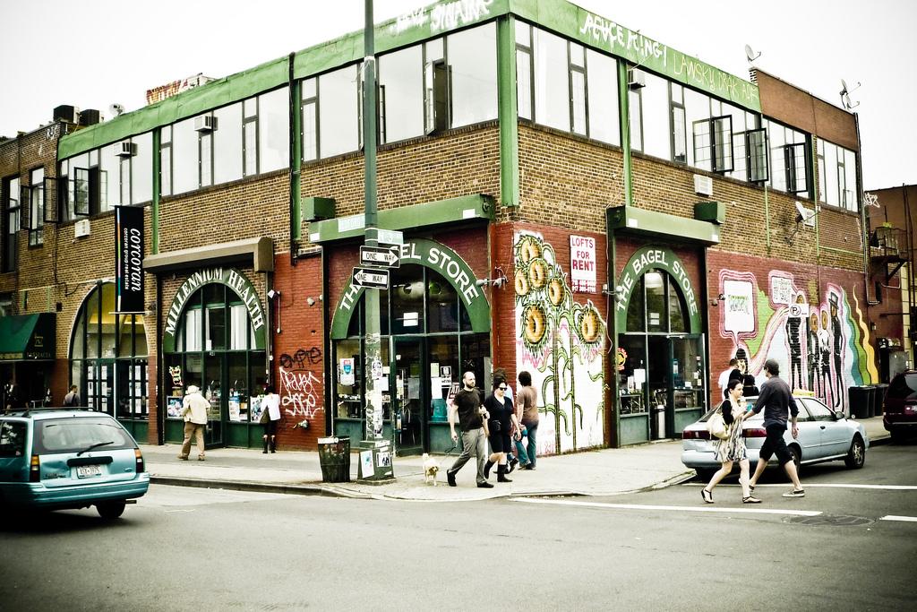 Loja de alimentos saudáveis em Williamsburg, no Brooklyn. Foto: rawmeyn @ Flickr