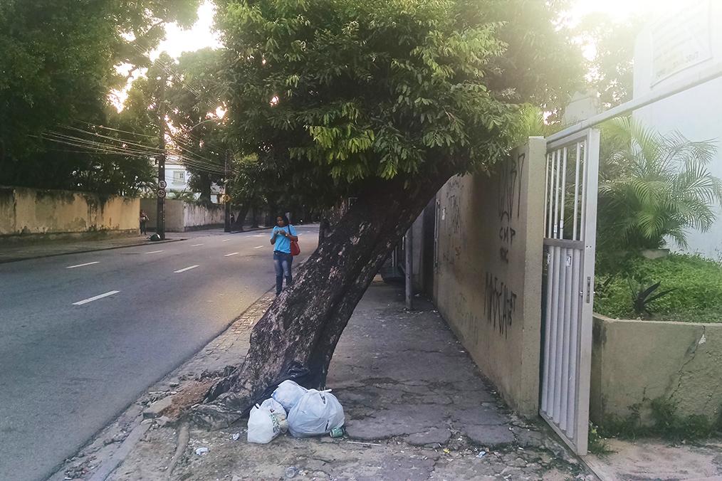 Calçada de Recife. Foto: Erick Vasconcelos