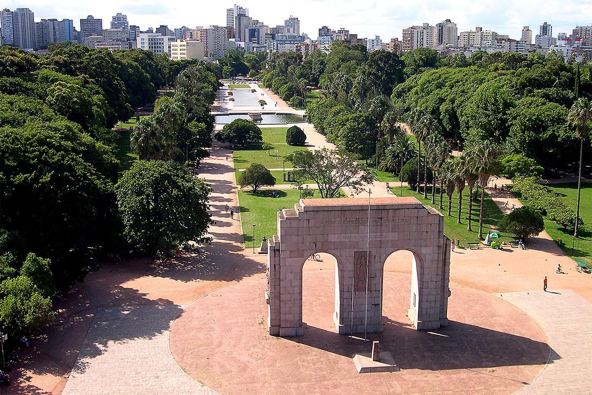 Parque Farroupilha. Foto: prefeituraportoalegre @ Flickr