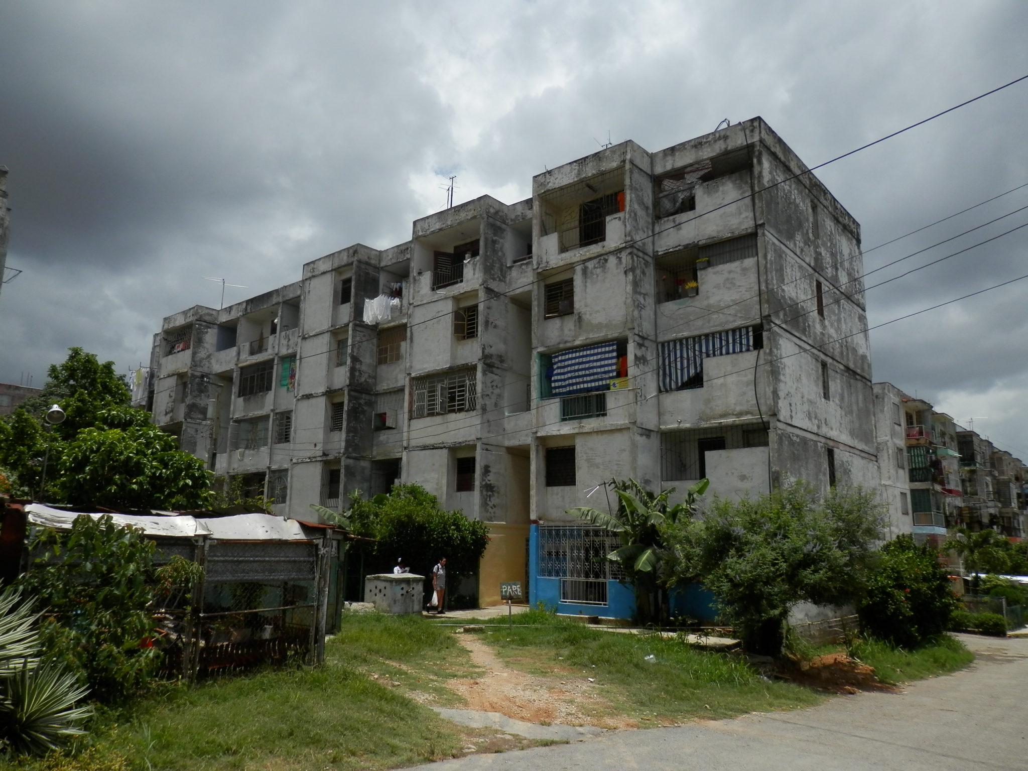 Prédios de habitação governamental.
