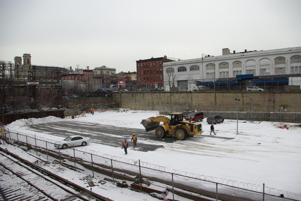 Pacific Yard em construção no Brooklyn, Nova York. Foto: akinloch @ Flickr.