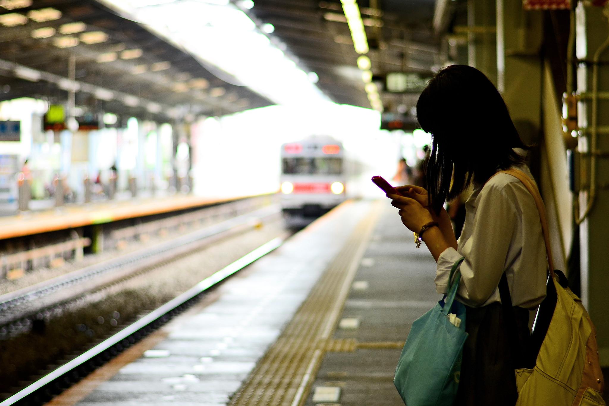 Estação de trem em Yokohama, Japão. Foto: dakiny @ Flickr.