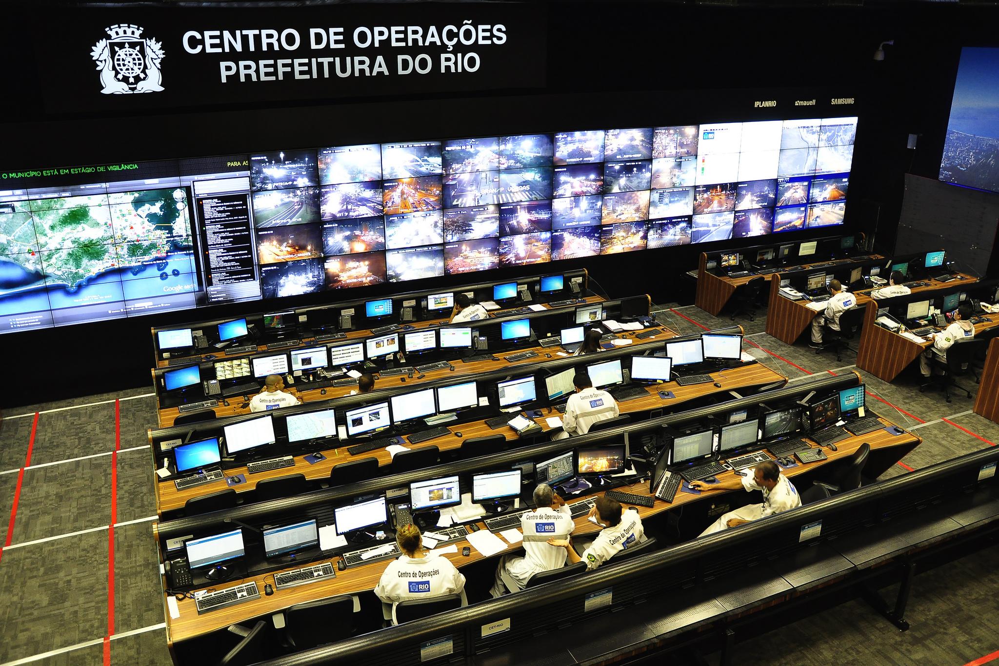 Centro de Operações da Prefeitura do Rio. Foto: embarqbrasil @ Flickr.