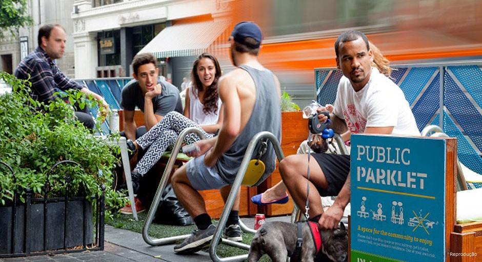 Intervenções pontuais, como a melhoria das calçadas, a instalação de parklets e espaços de convívio, podem ser mais efetivas para a transformação dos bairros que grandes obras públicas
