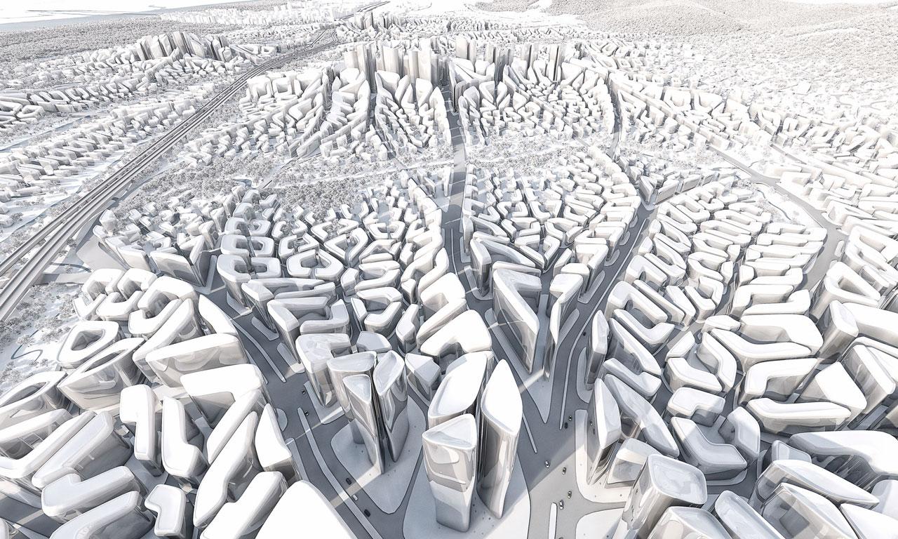 O urbanismo radical de Patrik Schumacher, sucessor de Zaha Hadid
