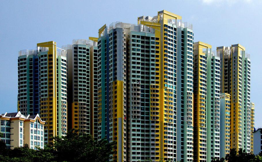 As HDB's de Singapura. Foto: Bernard Spragg