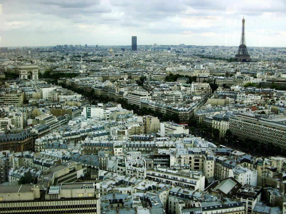 Paris: exemplo de uso racional do espaço urbano. Foto: Carlos ZGZ