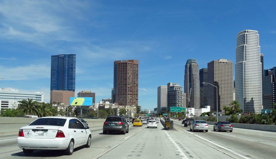 Tráfego na entrada de Los Angeles. Foto: Jeffrey Beall/Creative Commons