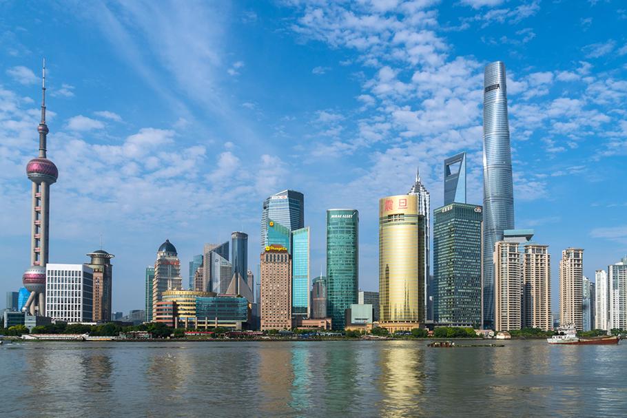 Urbanização na China | Shanghai