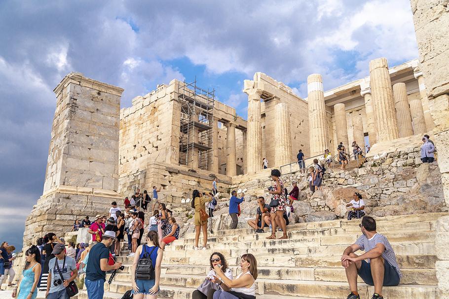Atenas clássica e a importância dos espaços coletivos