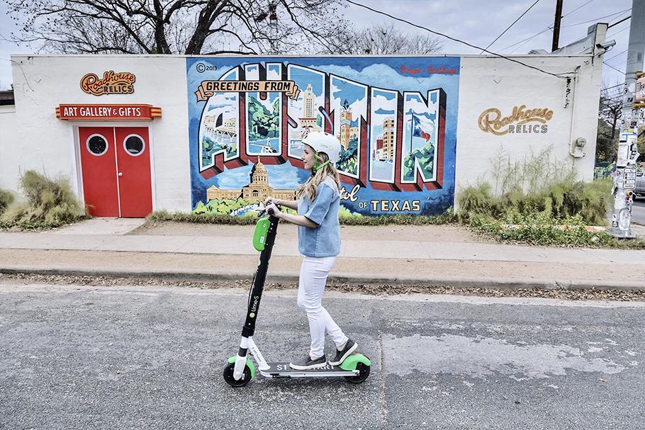 Diferente do brasileiro, o mercado americano de patinetes elétricos conta com uma excelente infraestrutura de transporte.