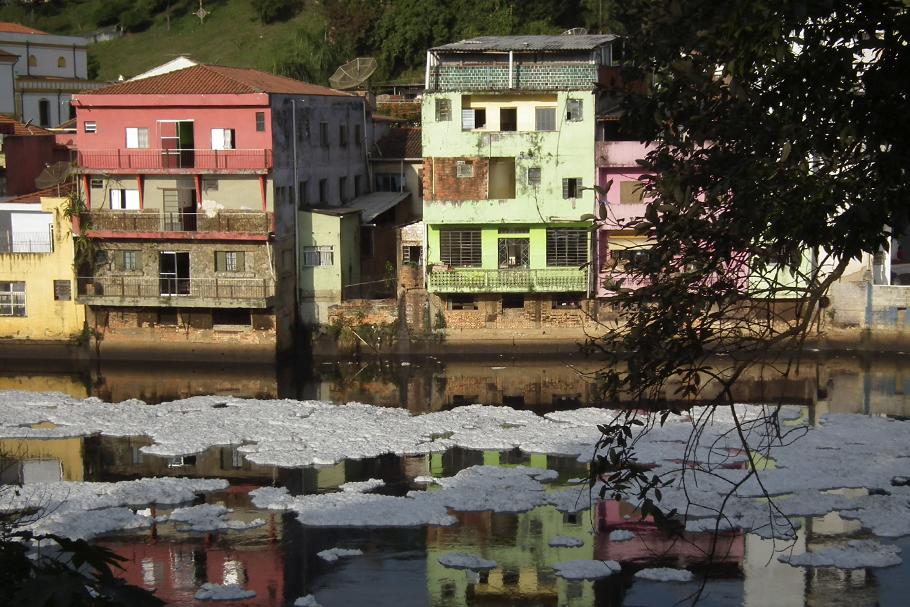 Rio Tietê, São Paulo.