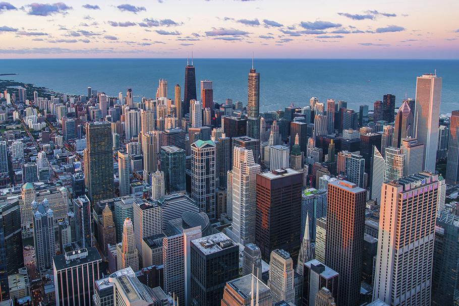 Chicago, um bom exemplo de urbanismo moderno