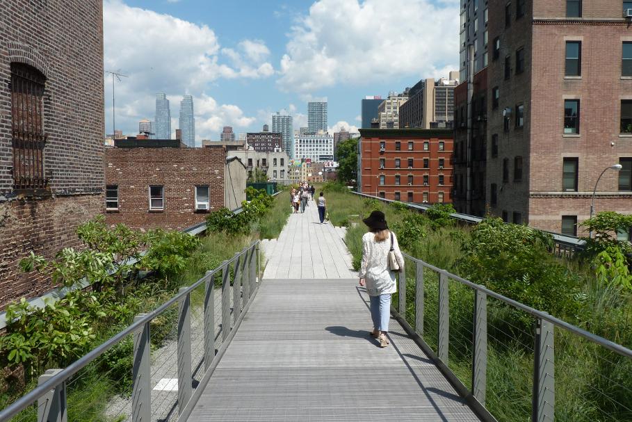 Highline Park, Nova York.