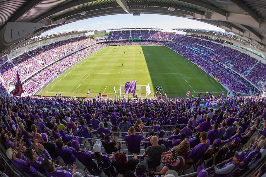 Orlando City Stadium, exemplo de gentrificação.