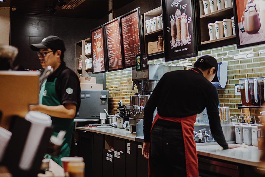 Cafeteria, exemplo de gentrificação.