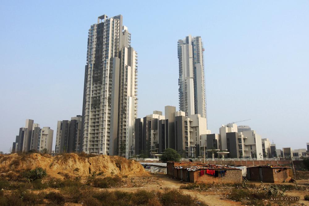"""Gurugram: onde a """"cidade privada"""" fracassou"""