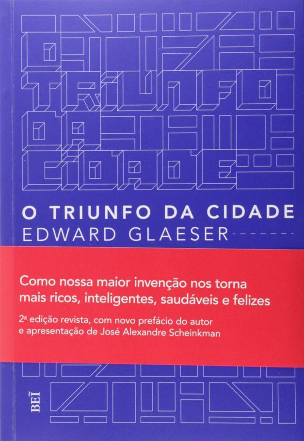 Capa do livro O Triunfo da Cidade