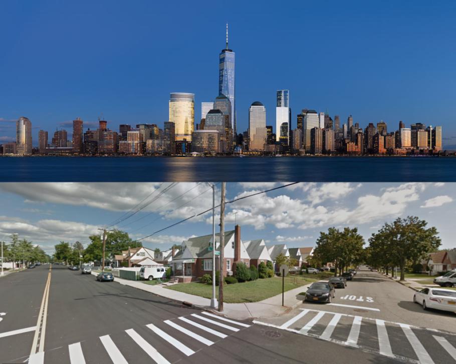 Manhattan e Eastern Queens