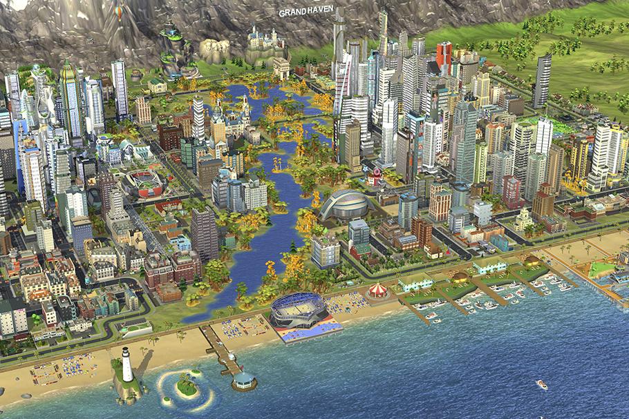 SimCity criou uma geração de urbanistas