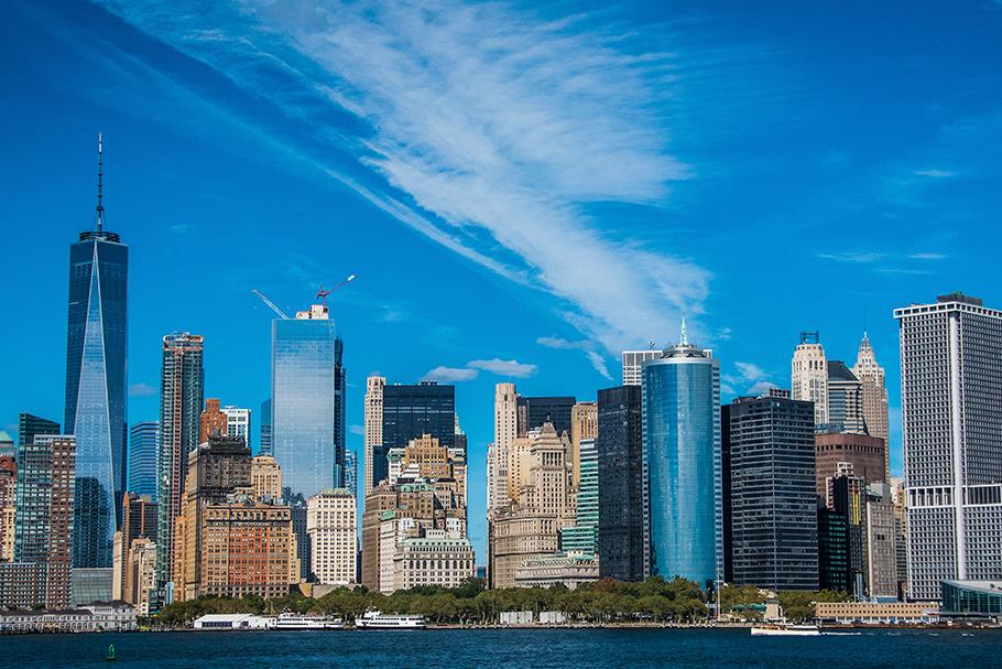 Skyline de Manhattan.