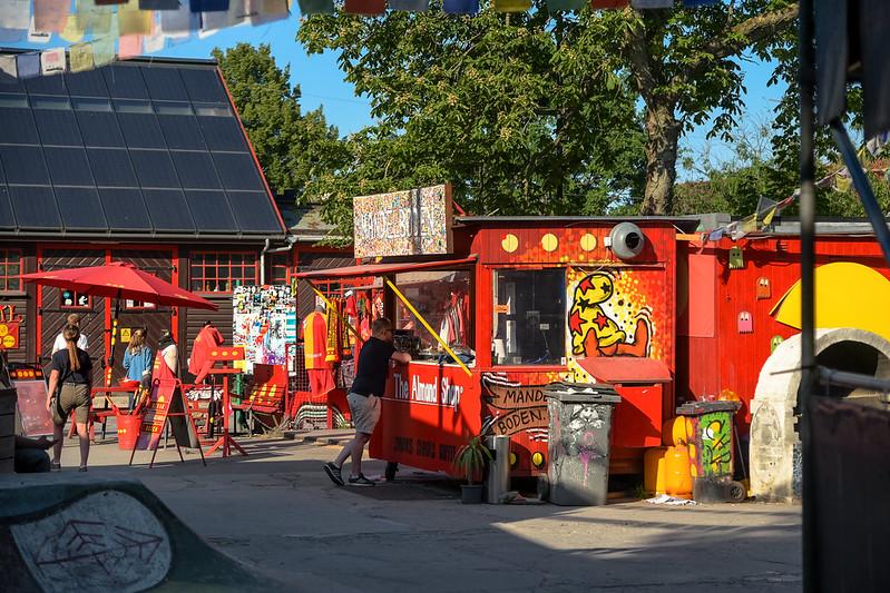 Ocupação de Christiania, em Copenhague