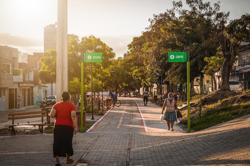 Projeto Via Parque, em Caruaru