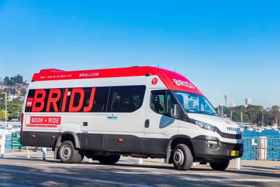 Bridj, exemplo de microtransporte