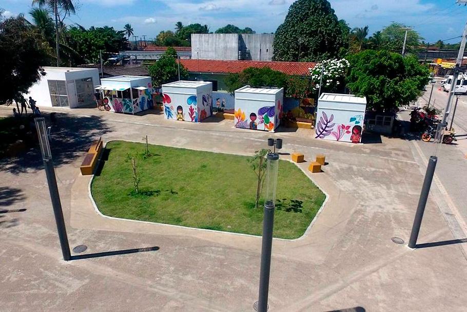 Projeto Reurbanização do Centro de Conde com foco na caminhabilidade