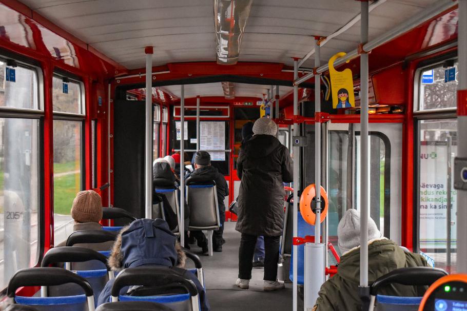 O transporte público regional gratuito da Estônia não atingiu seus objetivos
