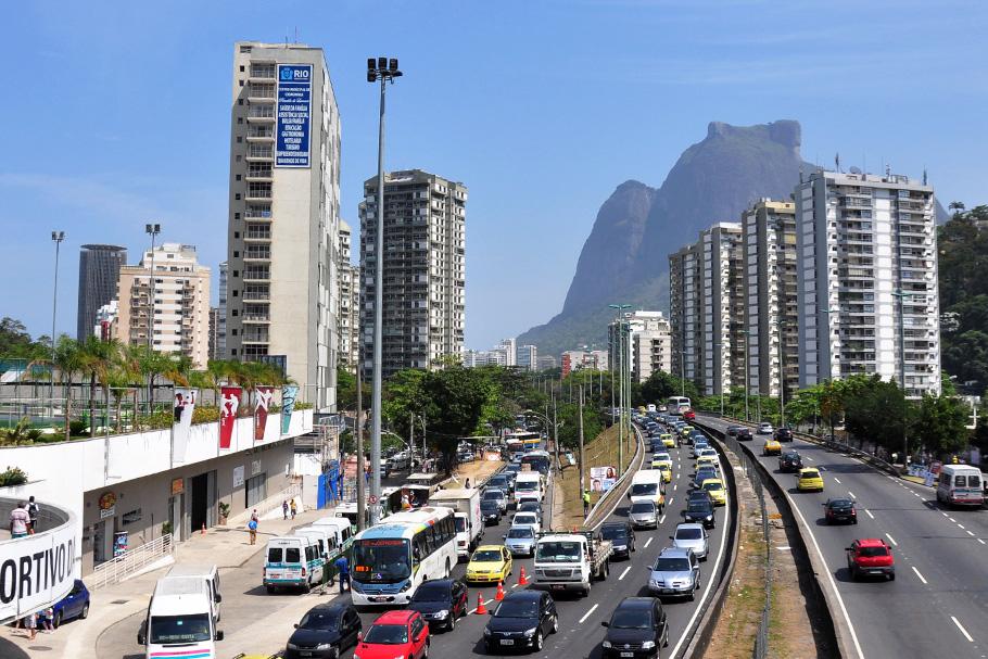 Autoestrada Lagoa-Barra, Rio de Janeiro